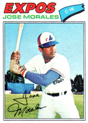 Photo of 1977 Topps #102 Jose Morales
