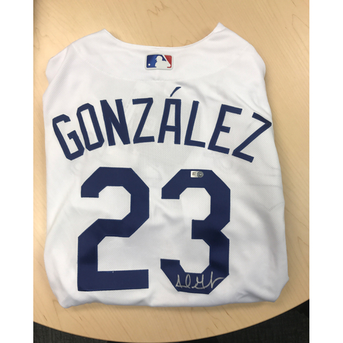 Photo of LADF Blue Diamond Gala Auction: Adrian Gonzalez Authentic Autographed Jersey