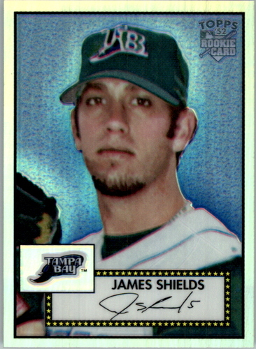 Photo of 2006 Topps 52 Chrome Refractors #8 James Shields