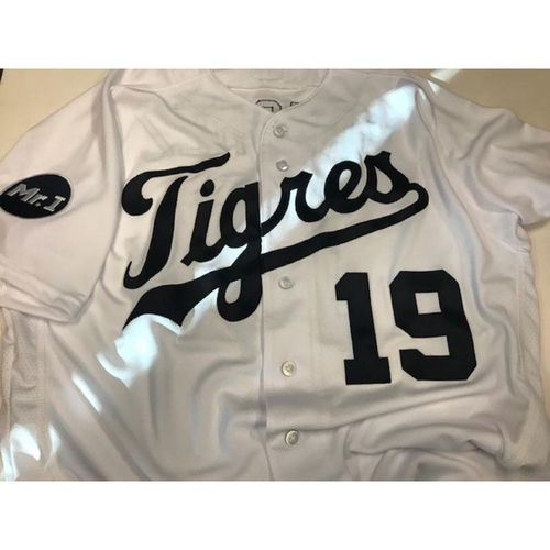 Photo of Team-Issued Fiesta Tigres Jersey: Anibal Sanchez