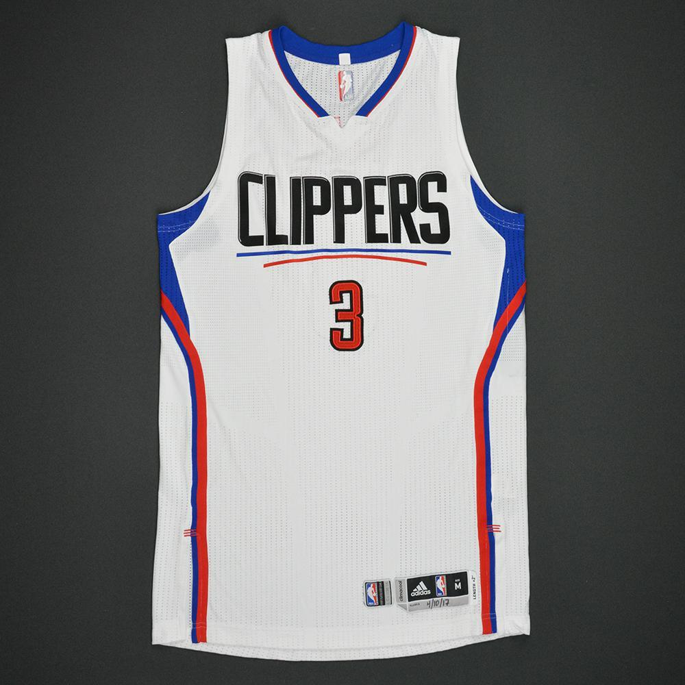 Chris Paul - Los Angeles Clippers - Game-Worn Jersey - Double-Double - 2016-17 NBA Season