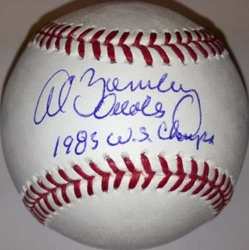 "Photo of Al Bumbry Autographed ""1983 WS Champs"" Baseball"