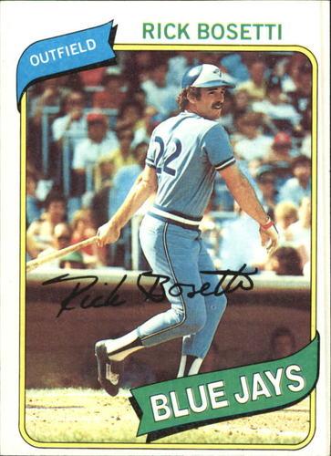 Photo of 1980 Topps #277 Rick Bosetti