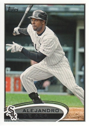 Photo of 2012 Topps #602 Alejandro De Aza