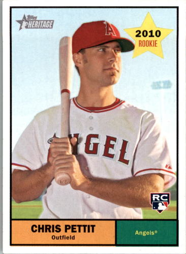 Photo of 2010 Topps Heritage #147 Chris Pettit RC