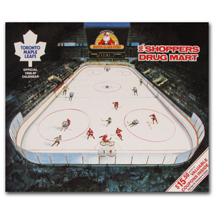 Toronto Maple Leafs Official 1986-87 Calendar