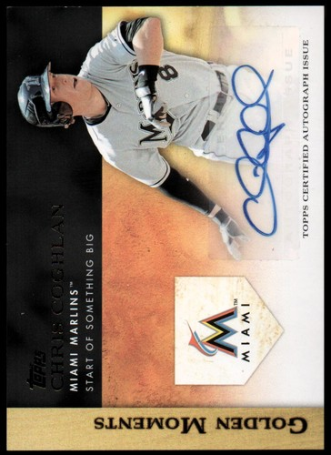 Photo of 2012 Topps Golden Moments Autographs #CC Chris Coghlan