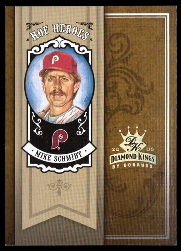 Photo of 2005 Diamond Kings HOF Heroes Gold #25 Mike Schmidt