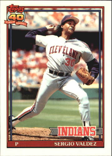 Photo of 1991 Topps Tiffany #98 Sergio Valdez