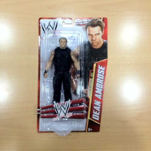 SIGNED Dean Ambrose Mattel Basic Series 33 Figure