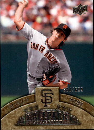 Photo of 2009 Upper Deck Ballpark Collection #67 Tim Lincecum