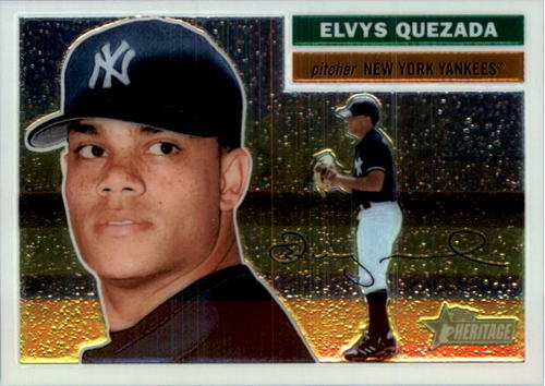 Photo of 2005 Topps Heritage Chrome #THC85 Elvys Quezada