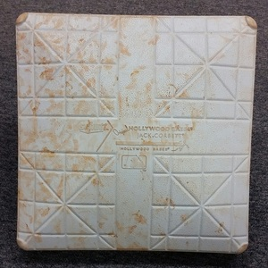 Authenticated Game-Used 1st Base from June 10, 2015 vs Miami Marlins. Jose Reyes hits his 2nd Home Run of the year off of Tom Koehler in bottom of 7. - used for innings 6-9