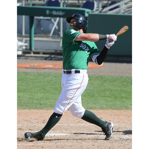 Photo of Red Sox Foundation St. Patrick's Day Jersey Auction - Bryce Brentz Game-Used & Autographed Jersey