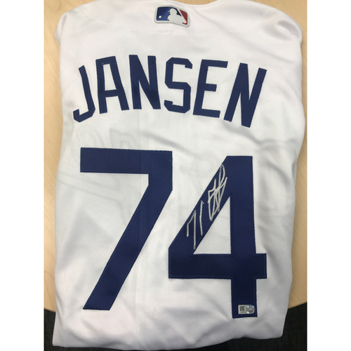 Photo of LADF Blue Diamond Gala Auction: Kenley Jansen Authentic Autographed Jersey