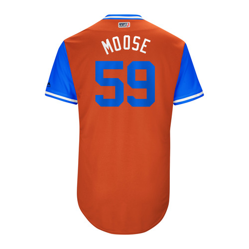 "Photo of Joe ""Moose"" Musgrove Houston Astros Game-Used Players Weekend Jersey"