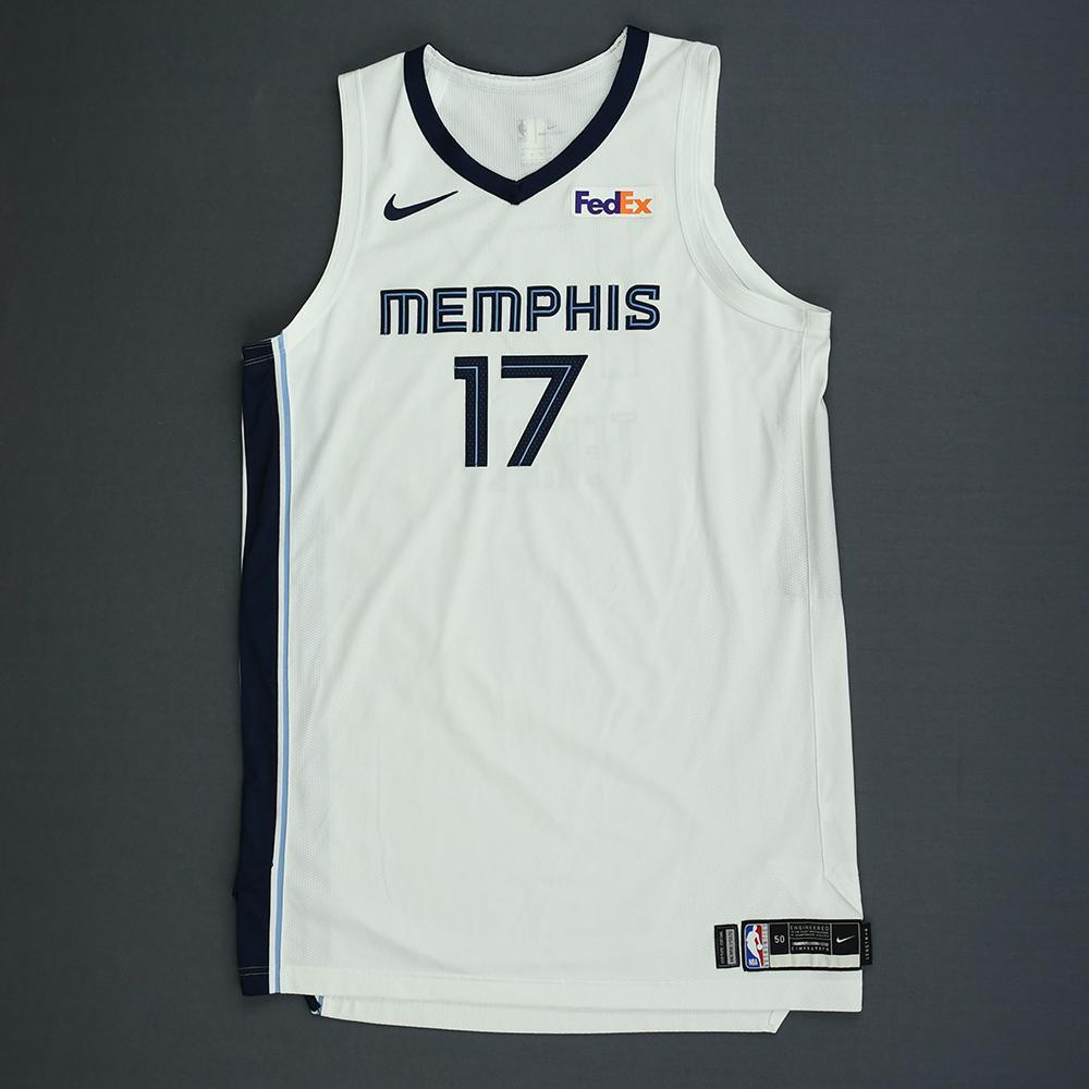 Garrett Temple - Memphis Grizzlies - Kia NBA Tip-Off 2018 - Game-Worn Association Edition Jersey