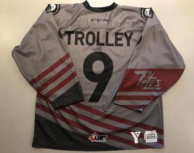 Curtis Trolley (#9) - '93 Petes Alumni Jersey