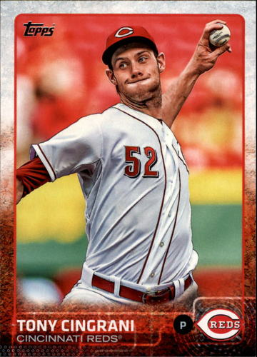 Photo of 2015 Topps #264 Tony Cingrani