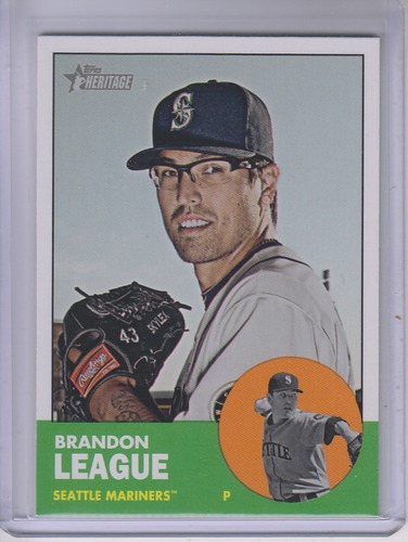 Photo of 2012 Topps Heritage #444 Brandon League SP