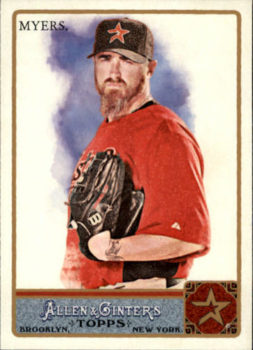 Photo of 2011 Topps Allen and Ginter #239 Brett Myers
