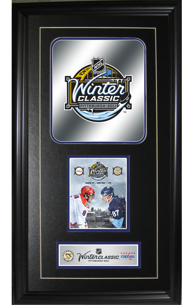 Sidney Crosby vs Ovechkin Numbers Print Winter Classic 2011