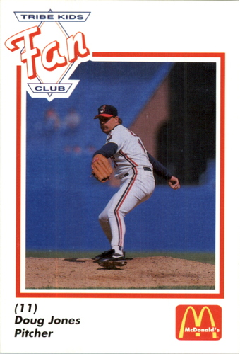 Photo of 1991 Indians Fan Club/McDonald's #16 Doug Jones