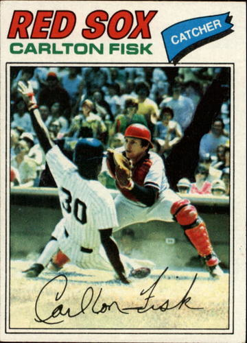 Photo of 1977 Topps #640 Carlton Fisk