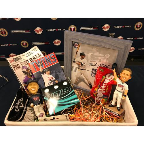 Photo of 2017 Twins Favorite Things Auction: Michael Cuddyer Favorite Things Basket