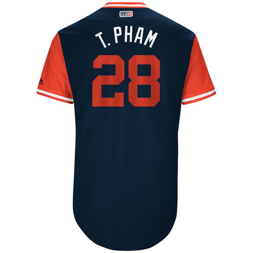 """Photo of Tommy """"T. Pham"""" Pham St. Louis Cardinals Game-Used Players Weekend Jersey"""