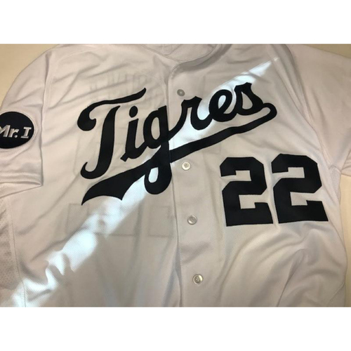 Photo of Game-Used Fiesta Tigres Jersey: Gene Lamont