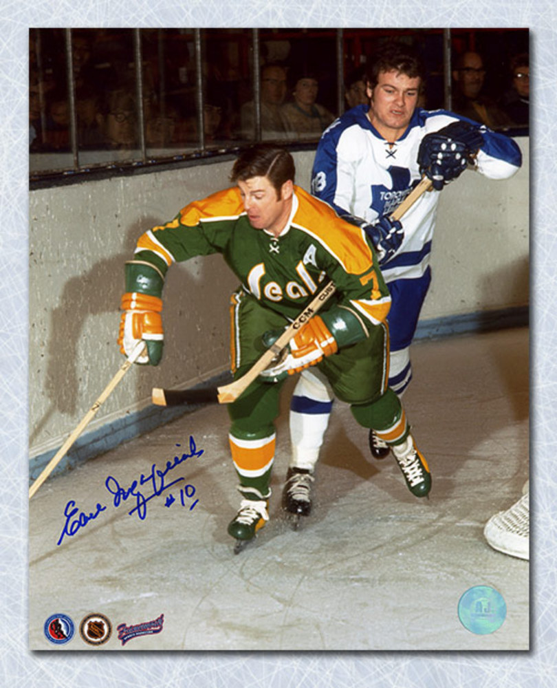 EARL INGARFIELD Golden Seals SIGNED 8x10 Photo