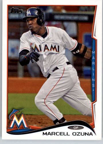Photo of 2014 Topps #70 Marcell Ozuna