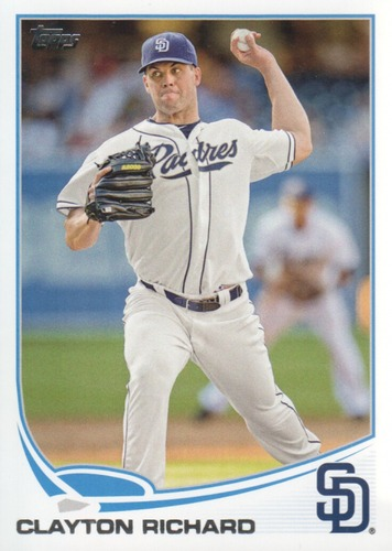 Photo of 2013 Topps #491 Clayton Richard