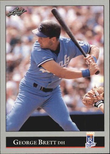 Photo of 1992 Leaf #255 George Brett