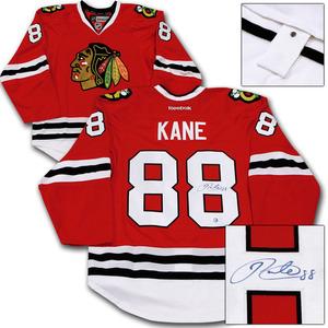Patrick Kane Autographed Chicago Blackhawks Authentic Pro Jersey