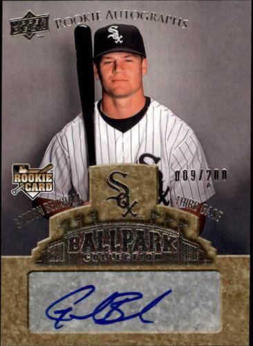 Photo of 2009 Upper Deck Ballpark Collection #81 Gordon Beckham AU/200 RC