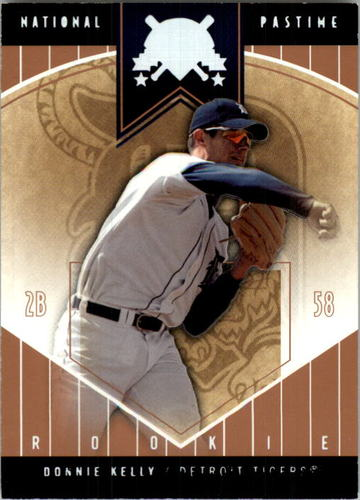 Photo of 2004 National Pastime White Foil #70 Donnie Kelly ROO
