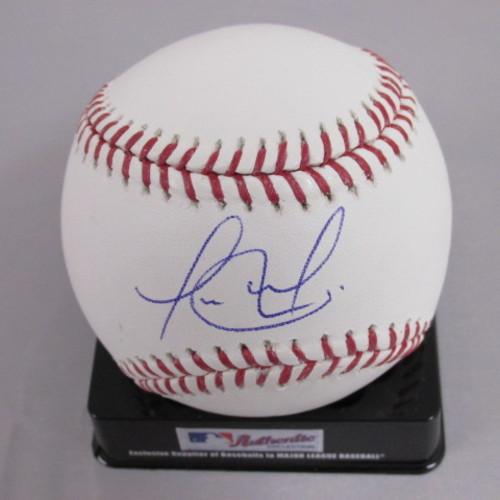 Photo of Jorge Alfaro Autographed Baseball