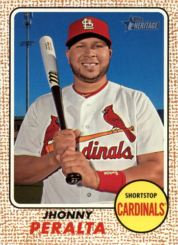 Photo of 2017 Topps Heritage #33 Jhonny Peralta