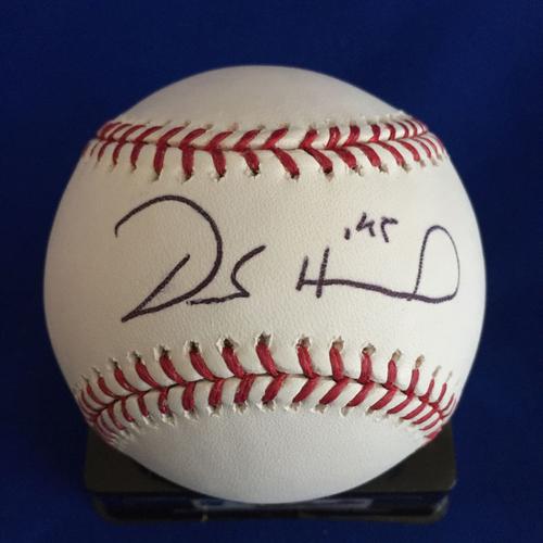 Photo of UMPS CARE AUCTION: Derek Holland Signed Baseball