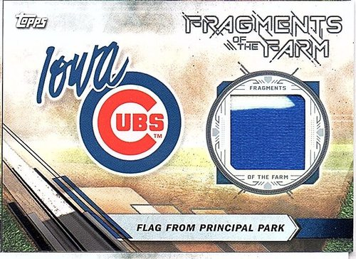 Photo of 2017 Topps Pro Debut Fragments of The Farm Relics #FOTFIC Principal Park Flag