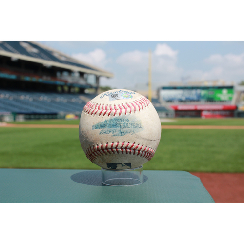 Photo of Game-Used Matt Carpenter RBI Double (8/8/17 STL at KC)