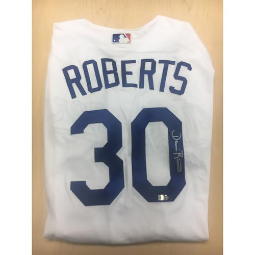 Photo of LA Dodgers Foundation Online Auction: Dave Roberts Authentic Autographed Jersey