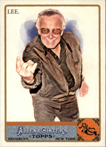 Photo of 2011 Topps Allen and Ginter #274 Stan Lee