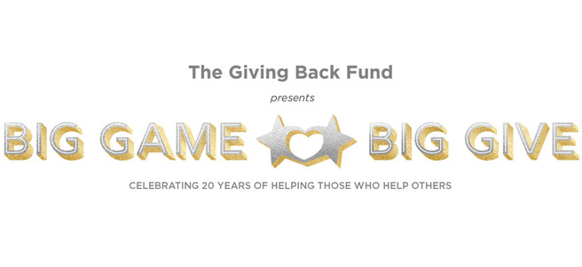 BIG GAME BIG GIVE PARTY HOSTED BY JAMIE FOXX + MEET JOE MONTANA - PACKAGE 2 of 3