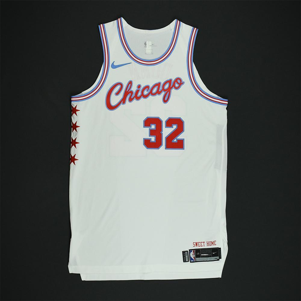 Kris Dunn - Chicago Bulls - Game-Worn 'City' Jersey - 2017-18 Season