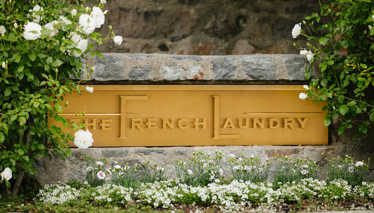 DINNER & KITCHEN TOUR AT THE FRENCH LAUNDRY - MARCH 28