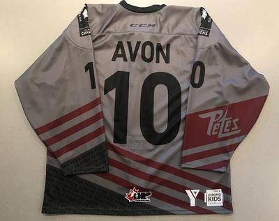 J.R. Avon (#10) - '93 Petes Alumni Jersey