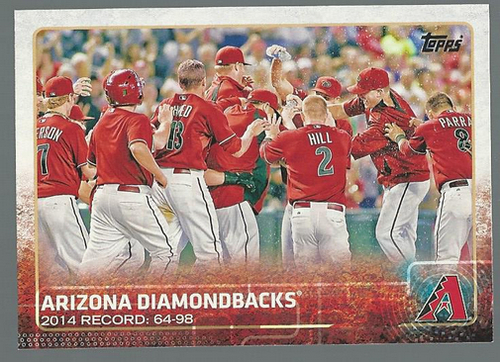Photo of 2015 Topps #265 Arizona Diamondbacks